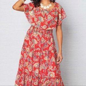 NEW Chris McLaughlin Maxi Dress